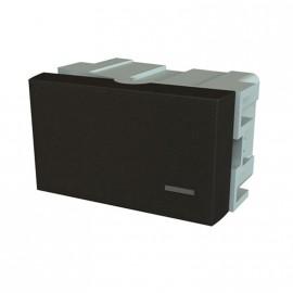 Jeluz Interruptores Negro 10a Platinum 80051