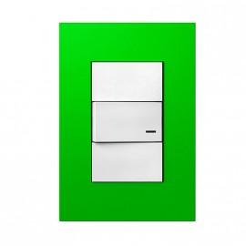 Jeluz Tapa Rect. Verde Platinum 45098/35