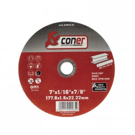 Disco Coner 177,8x1,6x22,22 Corte