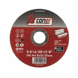 Disco Coner 114,3x3,0x22,22 Corte