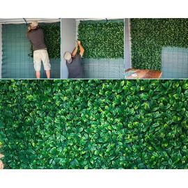 Cerco Planta Verde Hoja Chica Caja X 15u