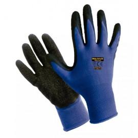 Guante Latex/nylon Azul Multiflex A/453