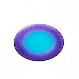Plato Hondo Verde/violeta Toscana 60561