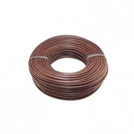 Cable Unip.  1mm Marron Trefilcon X100