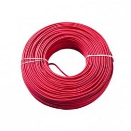 Cable Unip.  1mm Rojo Trefilcon