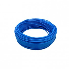 Cable Unip.  1mm Azul Trefilcon X100
