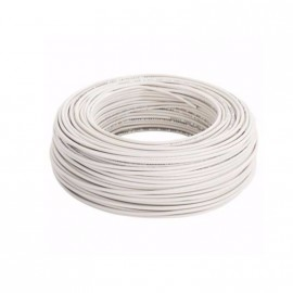 Cable Unip.  1mm Blanco Trefilcon