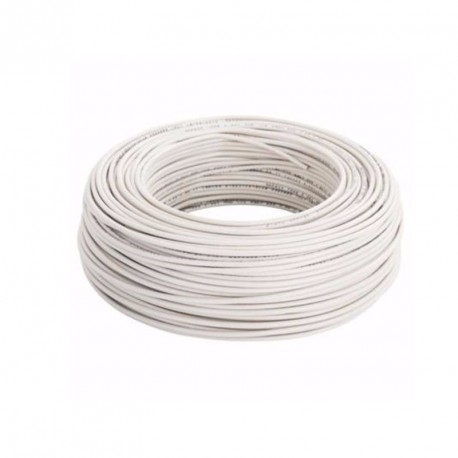 Cable Unip. 6mm Blanco Trefilcon
