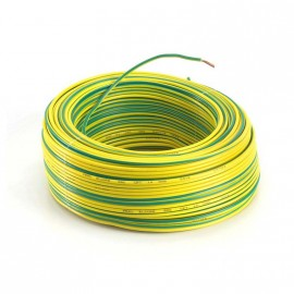 Cable Unip. Dgf 4mm Ver-amarillo X250