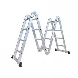 Escalera Alum. Articulada 4x4 Mor
