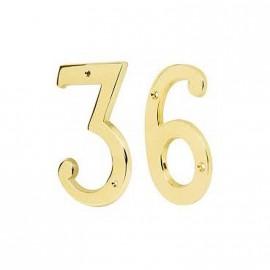 Numero 3 Tr -18443- De 6 Bronce