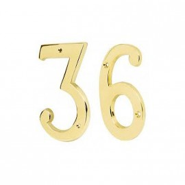 Numero 4 Tr -18444- De 6 Bronce