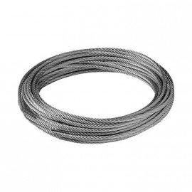 Cable Ac.galv. 2,5mm 6x7+1 Xmts.proar