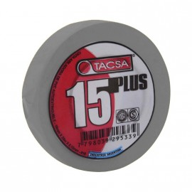 Cinta Aisl.pvc Plus 19mm X10mt. Gris