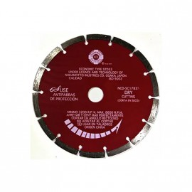 Disco Diam.laser Rojo Sc230 Ncd.prof