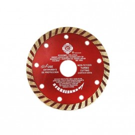 Disco Diam.turbo Rojo Tc115 Ncd.prof