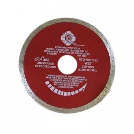 Disco Diam.liso Rojo 115 Ncd.prof