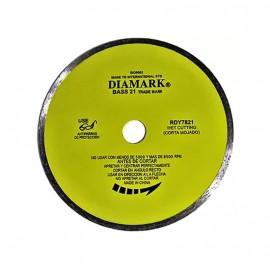 Disco Diam.liso Amarillo 180 Rdy  Diamark