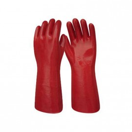 Guante P.v.c. 40 Cm.rojo