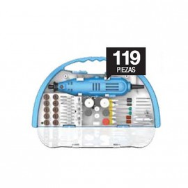 Minitorno + Kit Acc. 119 Pzas. Gamma G19501ac