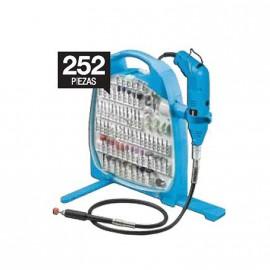 Minitorno + Kit Acc. 252 Pzas. Eje/flex. Gamma G19502ac