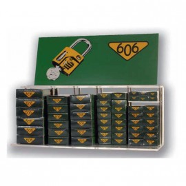 Exhibidor 606 C/10 Candados 18a40