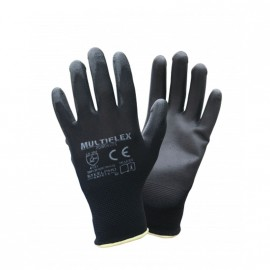 Guante Nylon Nº 7 Negro Multiflex 45434
