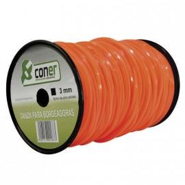 Hilo Bord.coner 2,5 X1kg Cuadrado Naranj