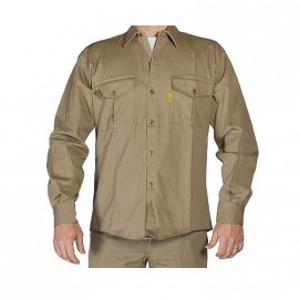 Camisa Beige T.48 Esp.pampero