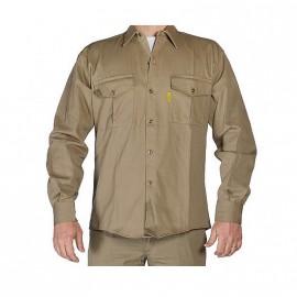 Camisa Beige T.42 Pampero