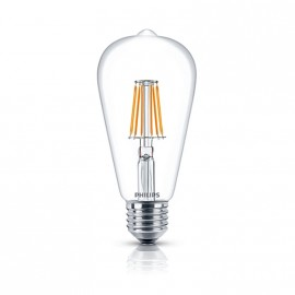 Lamp. Led Fila 7.5-70w E27 Ww St64 Nd 1ct Apr 15000hs