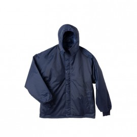 Campera Azul L Abrigo Roguant