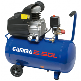 Compresor 50lt/2hp Monfasico G2802ar Gamma