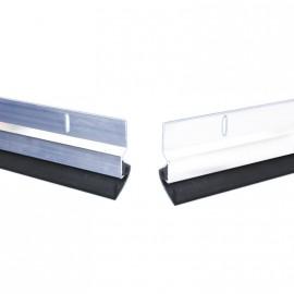 Zocalo P/puerta 80cm Aluminio Fijo