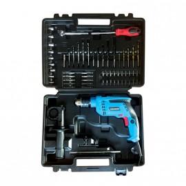 Taladro 13mm Gamma Bolso+kit 550w G1903kar