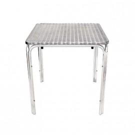 Mesa Aluminio Bar Kendra 60x60x70cm Nahuel