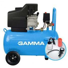 Compresor 50lt/2hp C/kit Monof.g2802kar Gamm