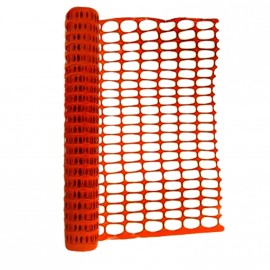 Malla Seguridad Naranja Est 8x4cm 1x45 Agroredes