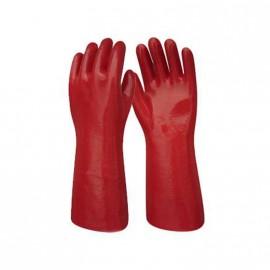 Guante P.v.c. Liviano 30 Cm.rojo