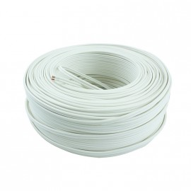 Cable Bip. Fvt 2x2,5mm Bco B X 100